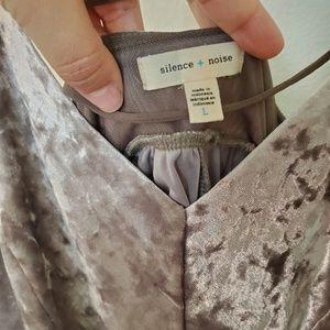 Urban Outfitters Pants - Silence +Noise Vanessa Velvet Romper